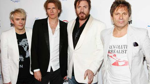 Duran Duran's Nick Rhodes, John Taylor, Simon LeBon and Roger Taylor.