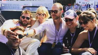 Chris Hemsworth And Matt Damon Bring Their Magical Bromance To Monaco See The Photos
