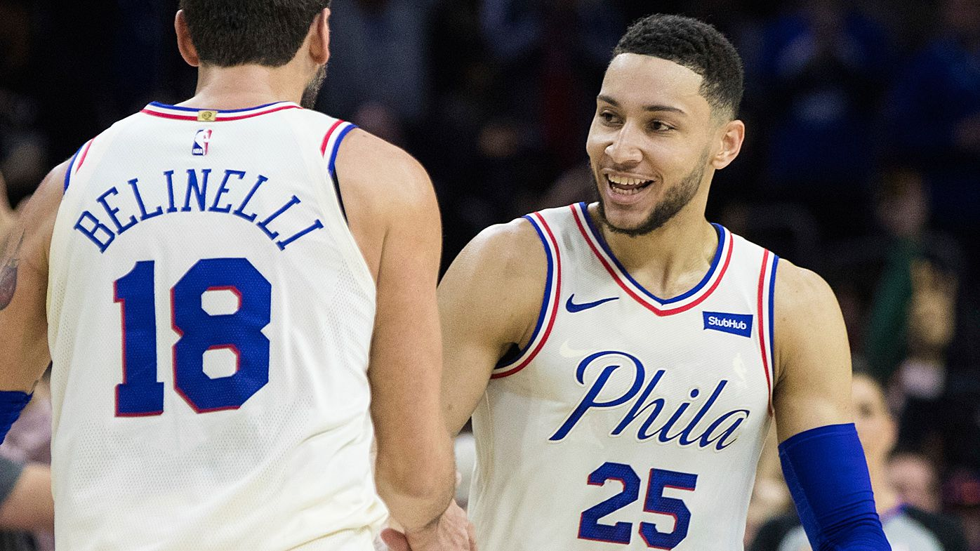 Philadelphia 76ers' Ben Simmons gets triple-double in showdown against LeBron James and Cleveland Cavaliers