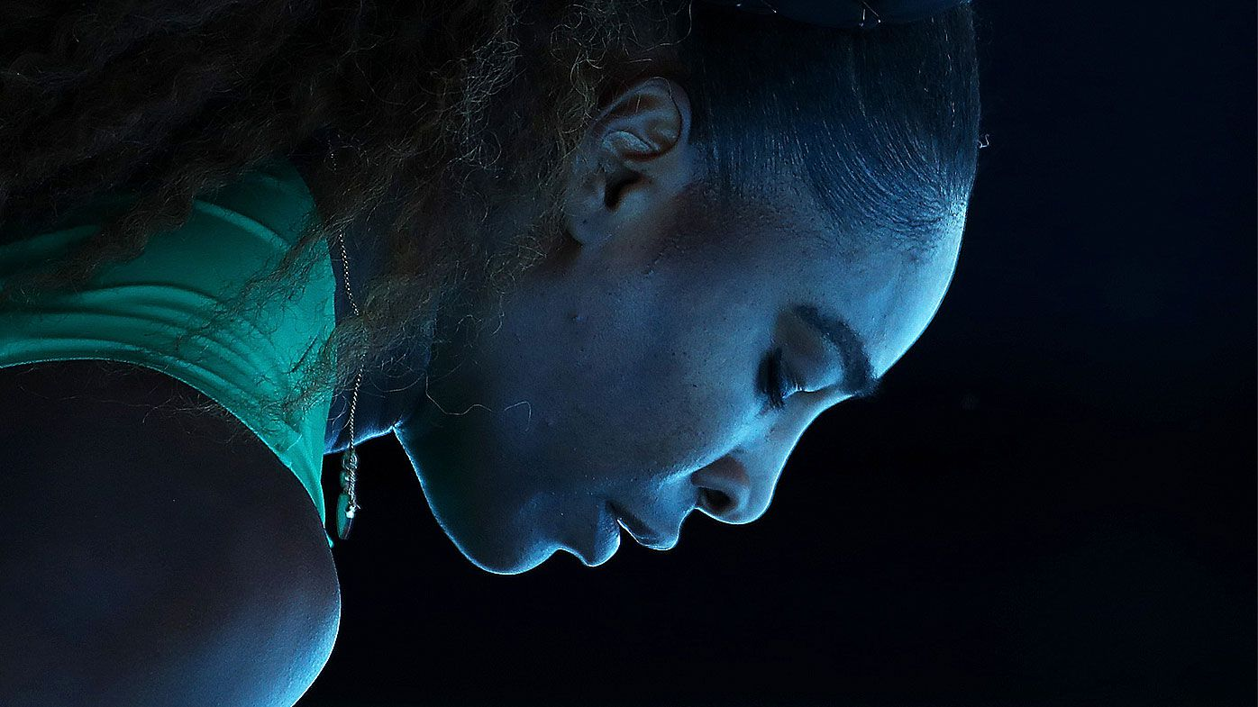 'A matter of seconds': The story behind magical Serena Williams image from Aussie Open