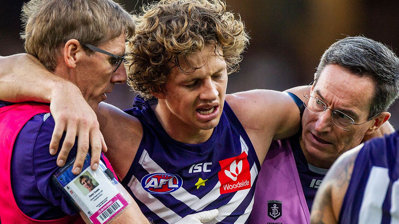 Nat Fyfe ruled out of Western Derby against West Coast due to concussion