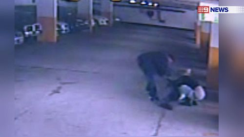 A man has been lured into a Sydney car park and robbed in an horrific attack. (9NEWS)
