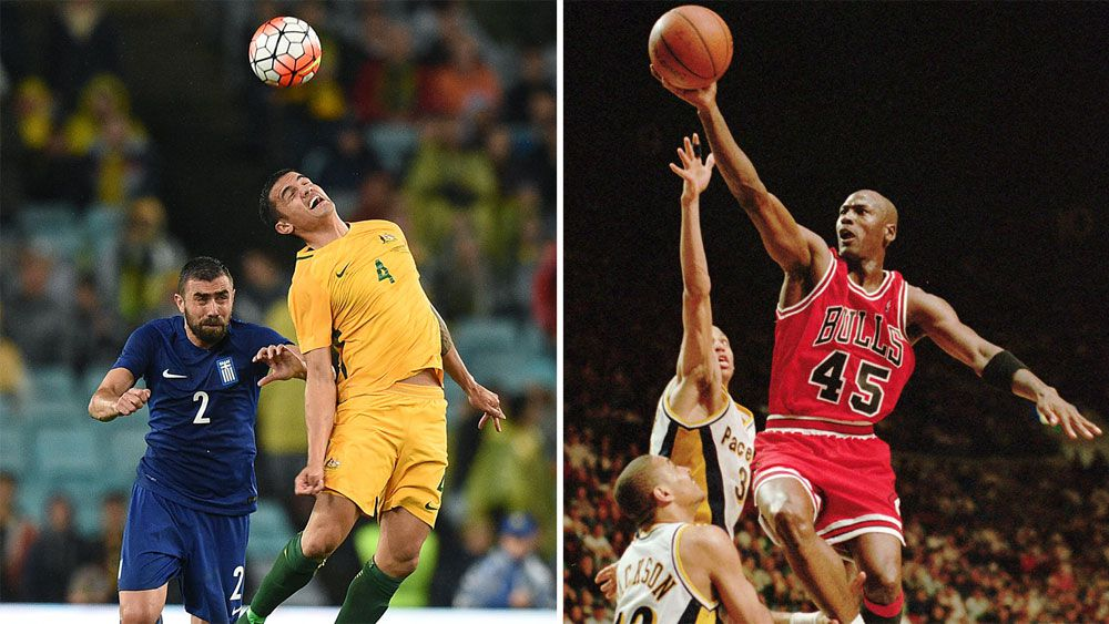 Former EPL and A-League star Michael Bridges rates Socceroos' Tim Cahill best ever header of a ball