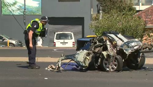 Victoria Police said it was one of the worst crashes they've seen in Melbourne.