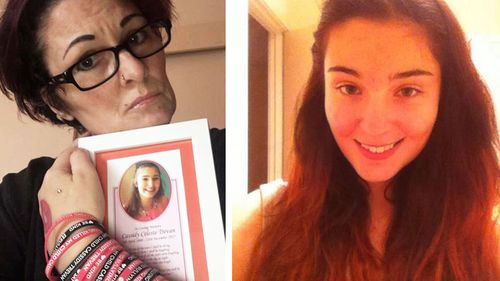Mum discovers heartbreaking note years after Victorian teen Cassidy Trevan's death