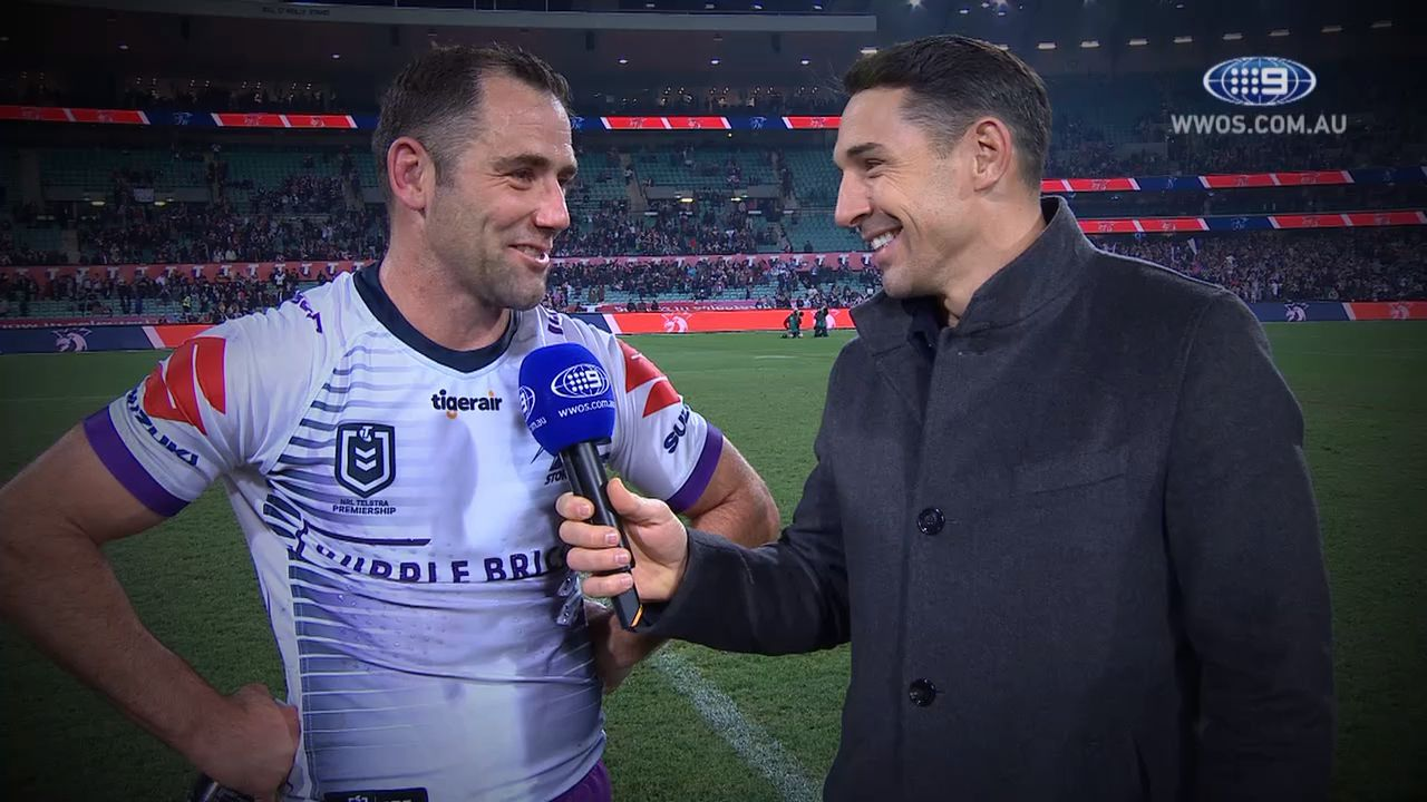 Melbourne Storm skipper Cameron Smith set to continue stellar career in 2020
