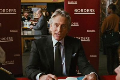 Not even the return of Gordon Gekko could save Borders from bankruptcy. The film is packed with product placements from Bulgari to Apple to Moet to Shia LaBeouf's Ducati motorcycle.
