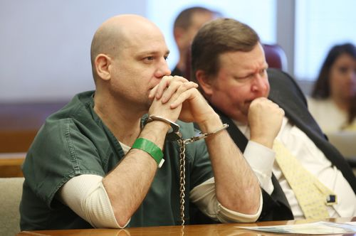 Stephen Bodine has been sentenced over the murder of his girlfriend's son.