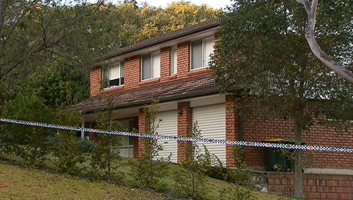 The expectant mother was set upon inside her Mt Colah home. Picture: 9NEWS