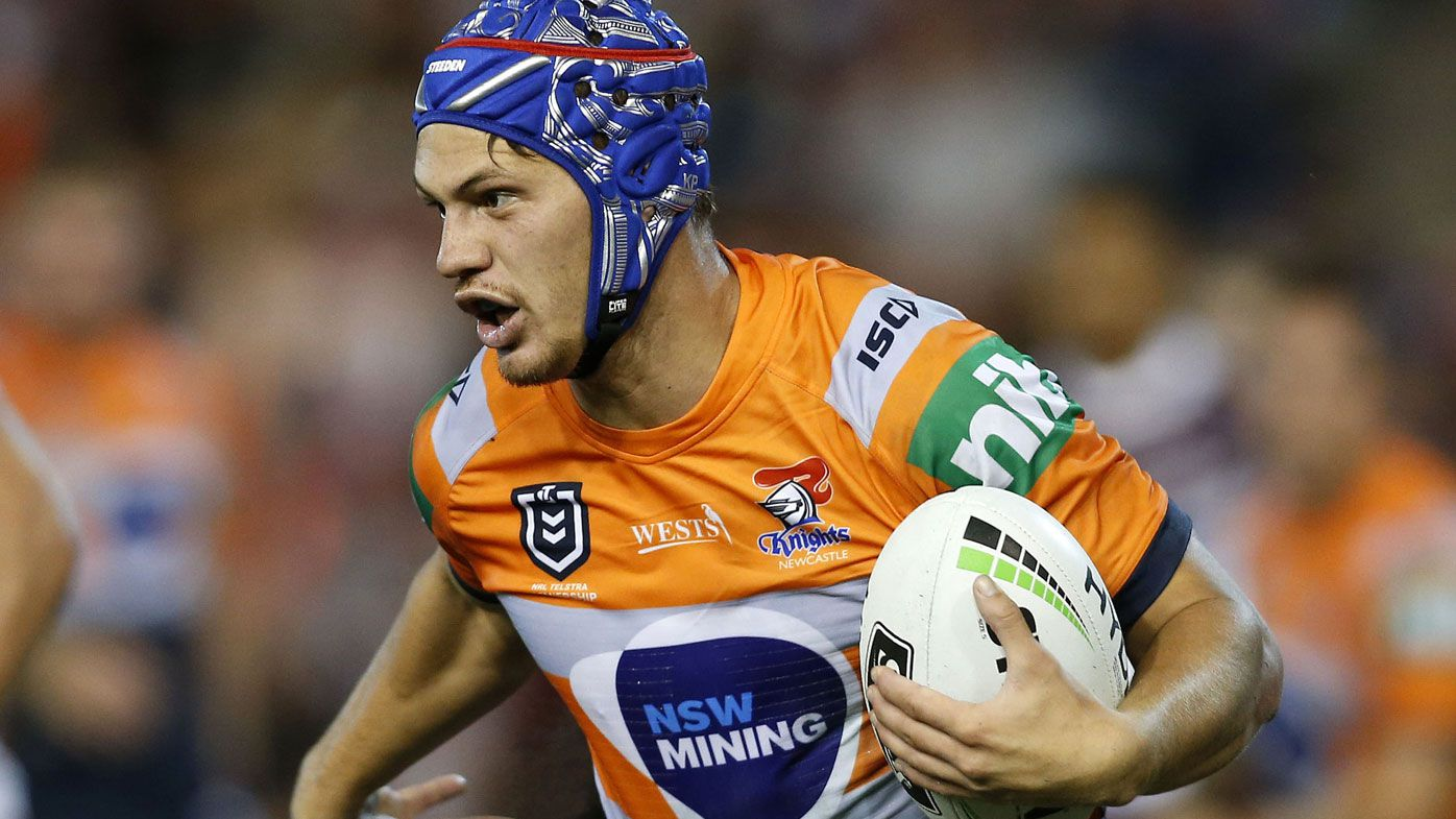 Kalyn Ponga protected from NRL hype by Newcastle Knights coach Nathan Brown