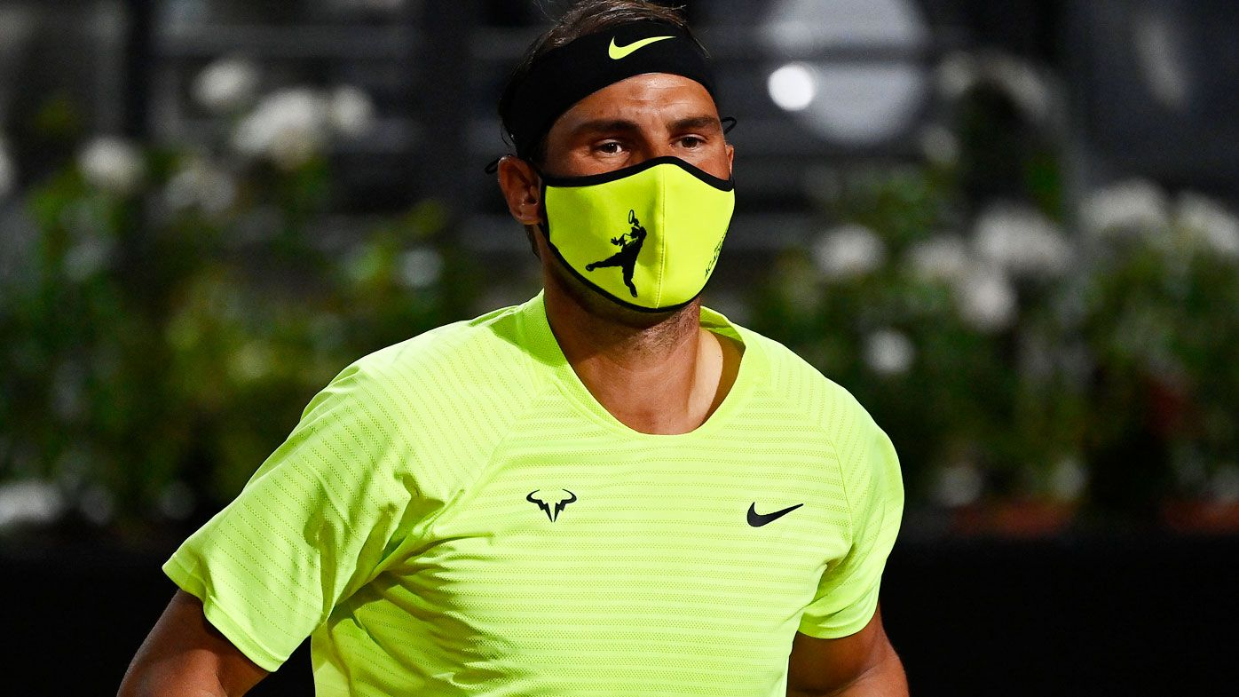 Rafael Nadal dragged into French Open virus drama after coach's spray