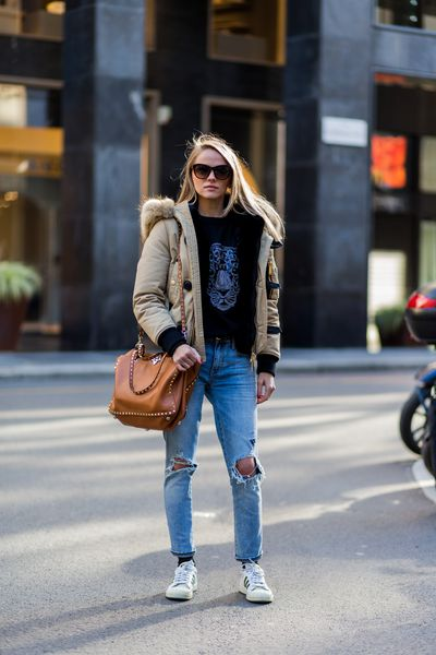 <p>Preppy casual will be big. Here, Lana Cojuhari demonstrates how it's done.</p> <p>Image: Getty.</p>