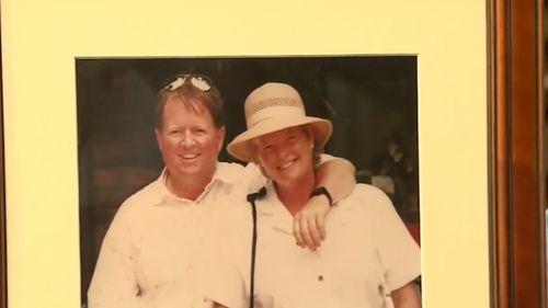 Bob and his wife Iris.