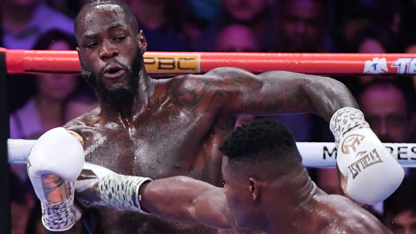 Deontay Wilder had gun on lap, considered suicide shortly after daughter's birth