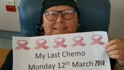 'I would get chemo while they were at school.'