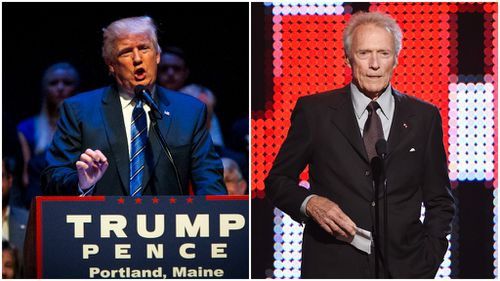 Clint Eastwood backs Donald Trump and slams 'oversensitive' generation