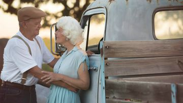 Couple celebrates 57 years of marriage with photoshoot inspired by The Notebook