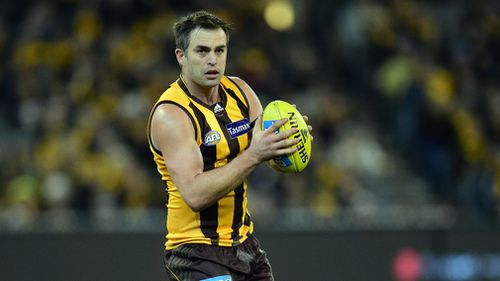 Ex-Hawthorn player Brian Lake has reportedly been arrested overseas. (AAP)