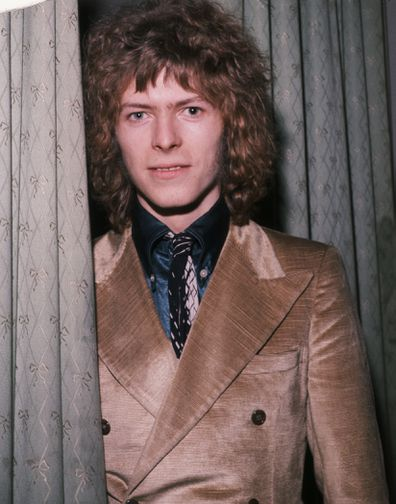 Singer David Bowie, awards show, 1970
