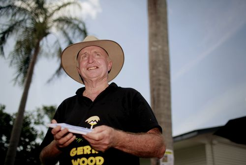 Northern Territory Independent MP Gerry Wood yesterday raised the idea that crocodiles in the state could be culled to create jobs in a similar way to Canada harvesting polar bears. Picture: AAP.