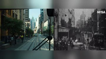 9News has been given an exclusive look at how Sydney's tram system operated over 100 years ago.