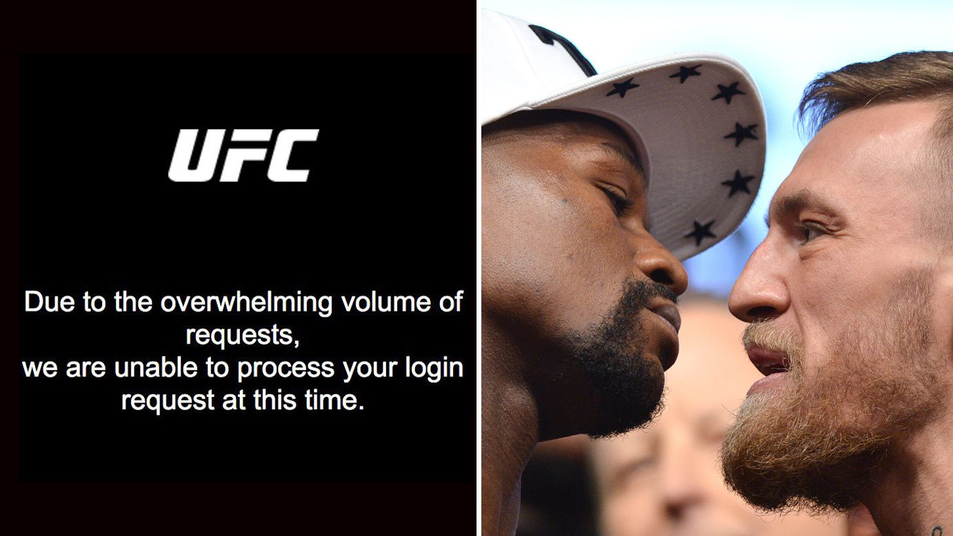 Boxing fans furious after PPV connection issues ahead of Conor McGregor vs Floyd Mayweather bout