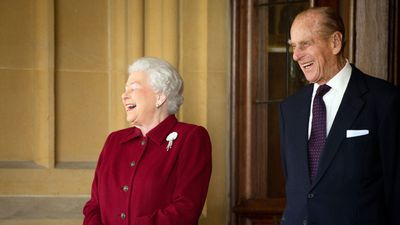 Prince Philip and Queen Elizabeth, 2014