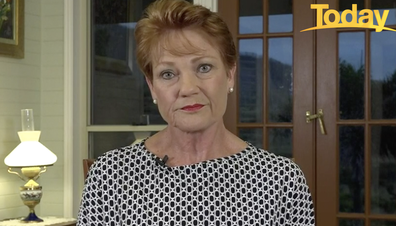 Hanson has urged all Australians to comply with social distancing measures.