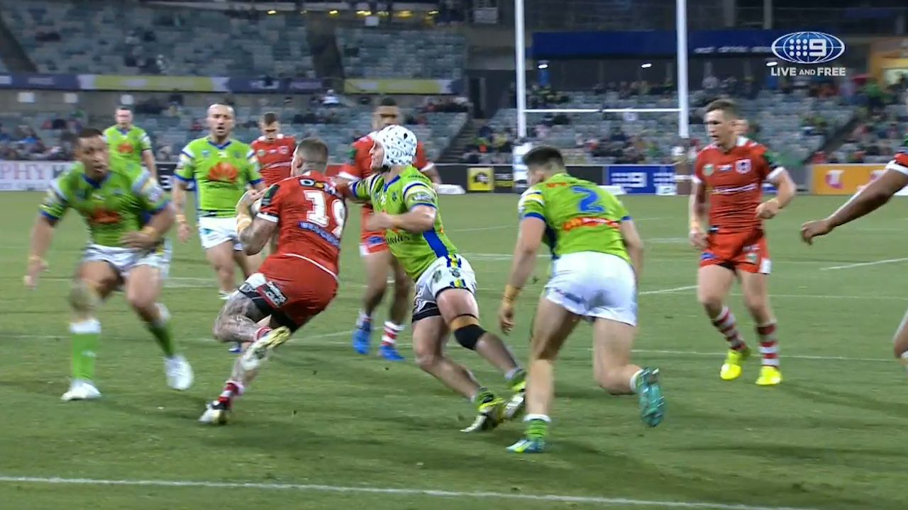 Papalii doesn't miss Dugan