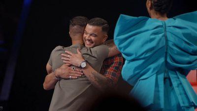 Sharing a hug