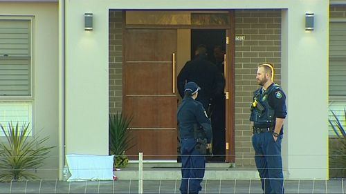 The two stabbing victims were in a stable condition in hospital under police guard. Picture: 9NEWS