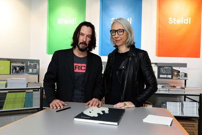 Keanu Reeves, Alexandra Grant, book, Shadow, book, promotional trail