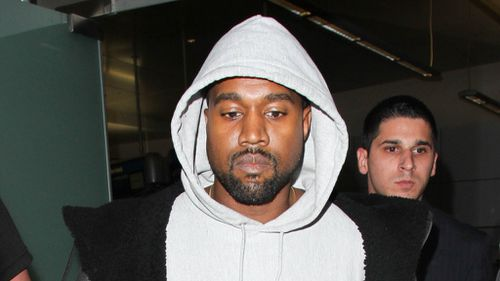 Kanye West resurfaces from hospital with blond hair in Los Angeles