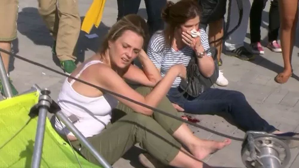 Seven people injured by falling camera at Rio venue