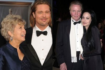 So how would the Jolie-Pitt clan be raised? Well, Brad was born into a conservative Oklahoma household while Ange grew up in celeb-studded LA as the daughter of actor's Jon Voight and Marcheline Bertrand.<br/><br/>Wonder if Brad's mum was #TeamJolie or #TeamAniston?  <br/><br/>Source: Getty