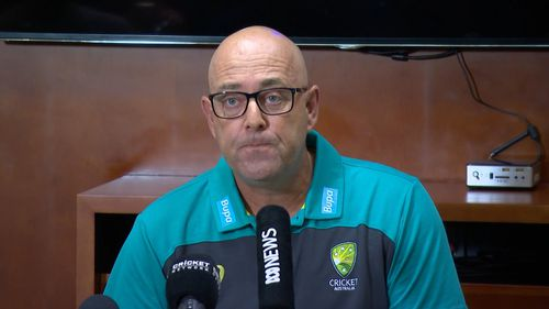 Coach Darren Lehmann says the culture of the team has to change going forward. (9NEWS)