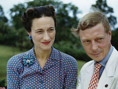 Wallis Simpson and Edward in the Bahamas, circa 1942
