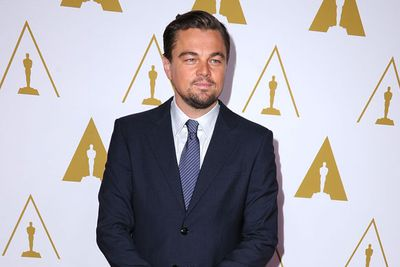 Leo is nominated for Best Actor for <i>The Wolf of Wall Street</i>.