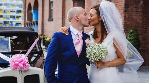 Charity funds wedding for UK couple with terminally ill groom