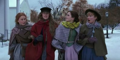 The cast of the 2019 film, Little Women.