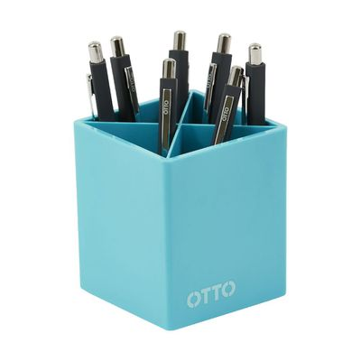 """<a href=""""https://www.officeworks.com.au/shop/officeworks/p/otto-brights-pen-cup-blue-otbpencbe"""" target=""""_blank"""">Otto Brights Pen Cup, $4.85.</a>"""