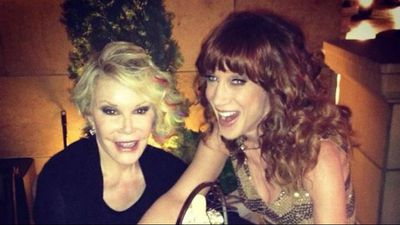 @kathygriffin A legend, a friend, a mentor, an icon, and wildly funny. One of a kind. RIP #JoanRivers @joan_rivers (Twitter)