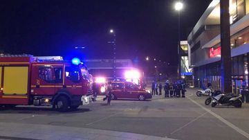 Emergency crews were called to the Gaumont cinema in Rennes in the country's north at 10pm (local time).