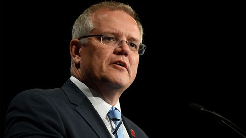 Scott Morrison announced funding will be increased to Foodbank Australia.
