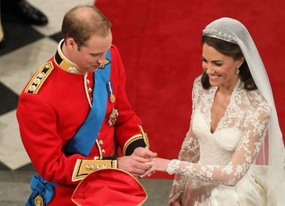 Royals don't get to choose their own wedding rings
