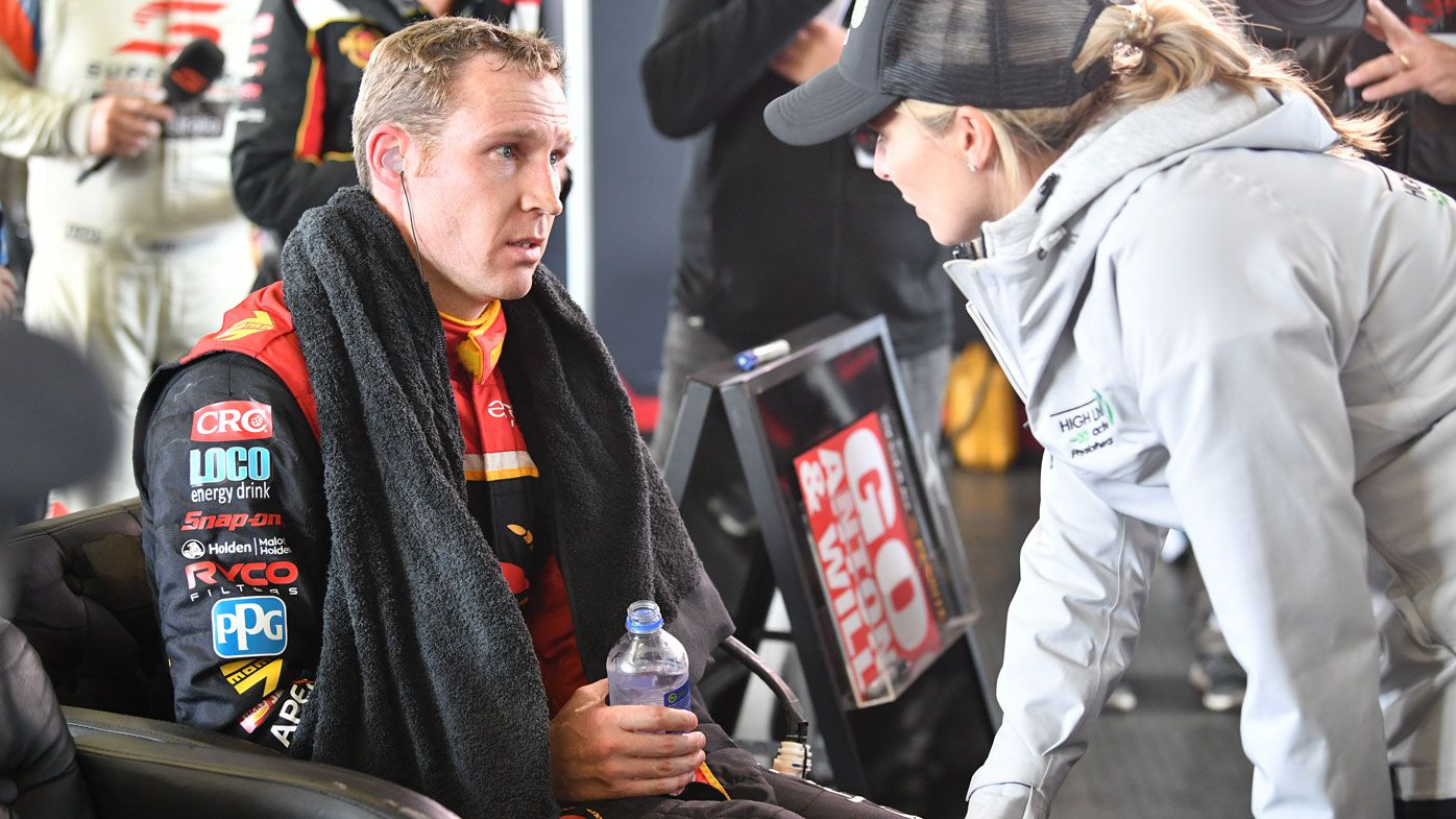 Reynolds to seek medical advice after health issues force him out of Bathurst 1000