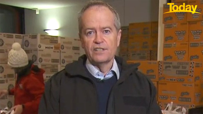 Bill Shorten is heartened the pace has picked up, but doesn't think it should have taken four months.