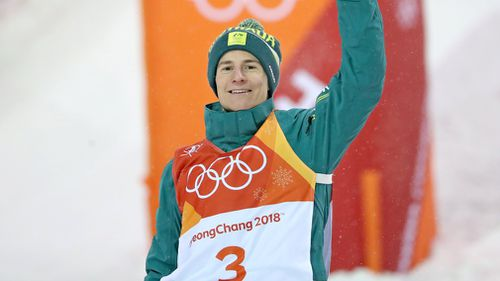 Graham, 23, becomes only the 11th Australian to win a medal at a  Winter Olympics  (AAP)