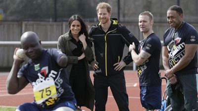 Harry and Meghan attend Invictus Games trials, 6 April 2018