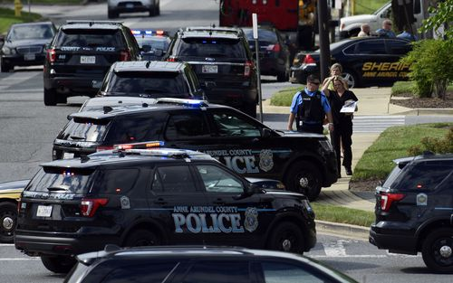 The shooter has been arrested, and is understood have been injured in the attack. Picture: AP